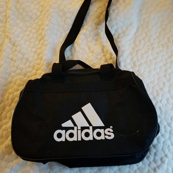 17b1d3823dd adidas Bags   Sale Gym Bag Duffel Black Canvas Athletic   Poshmark
